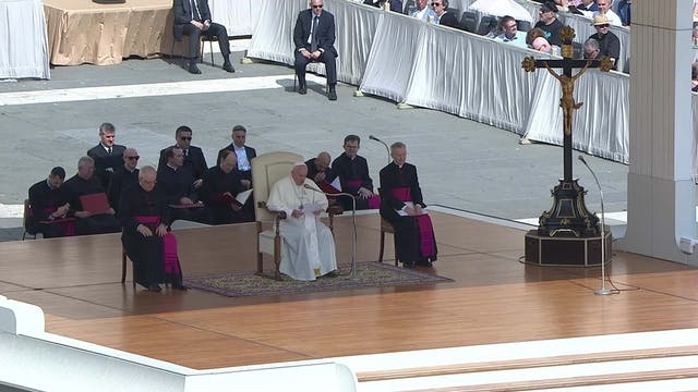 Pope in General Audience: reflects on...