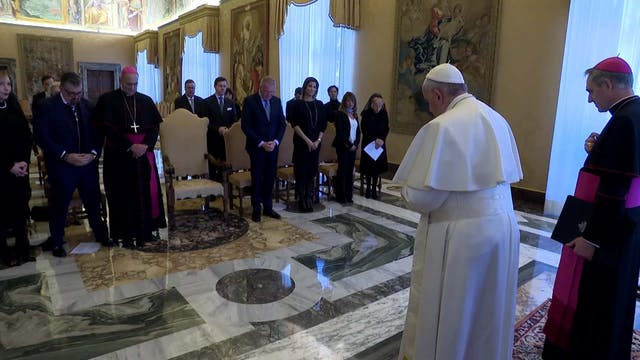 Pope to Galileo Foundation: it is a C...