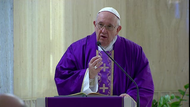 Pope Francis: I pray priests have cou...