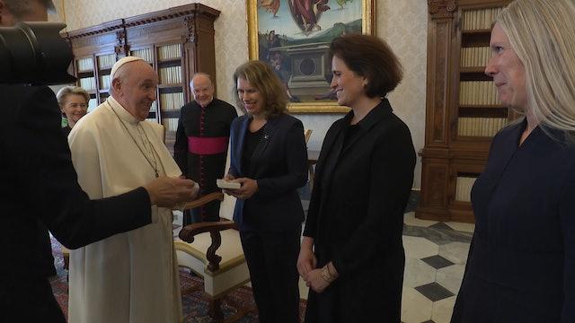 Embajadora de UE en Vaticano: Los textos de Francisco inspiran nuestros acuerdos