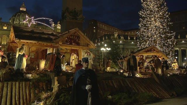 All the Nativity scenes within the Va...