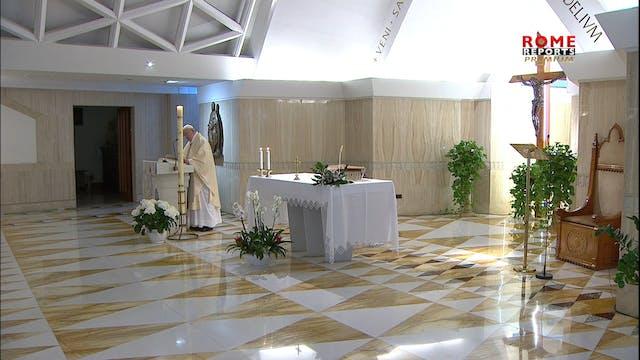 Papa en Santa Marta: No basta definir...