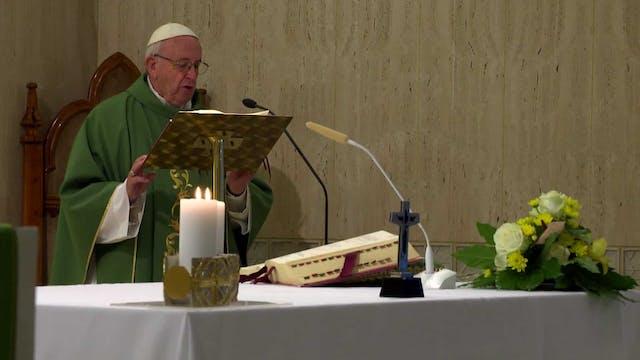 Papa en Santa Marta: La envidia condu...