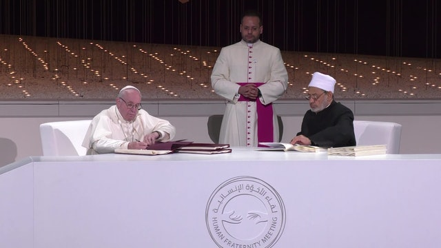 Vatican Secretary for Interreligious Dialogue: Abu Dhabi Document is key