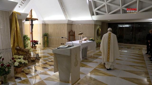 Papa en Santa Marta: Solo la fe puede darnos la fuerza de vencer la envidia