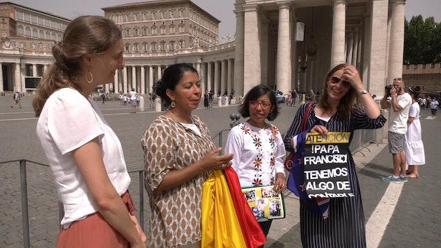 Peregrinos recuerdan las audiencias casi exclusivas con el Papa Francisco