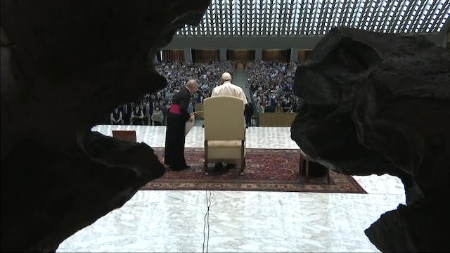 Pope Francis remembers the key moment...