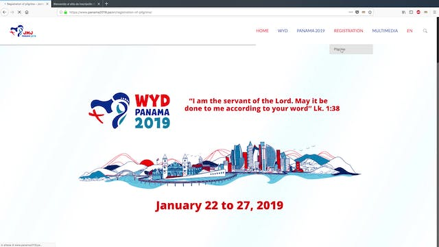 How to register for World Youth Day i...