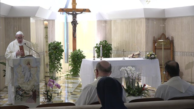 Papa: El oficio del Espiritu Santo es...