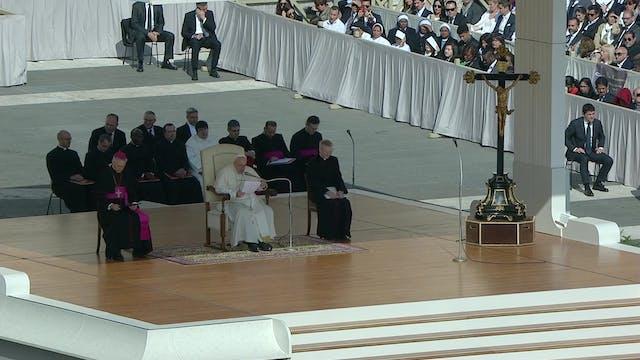 Papa en la audiencia de Semana Santa:...