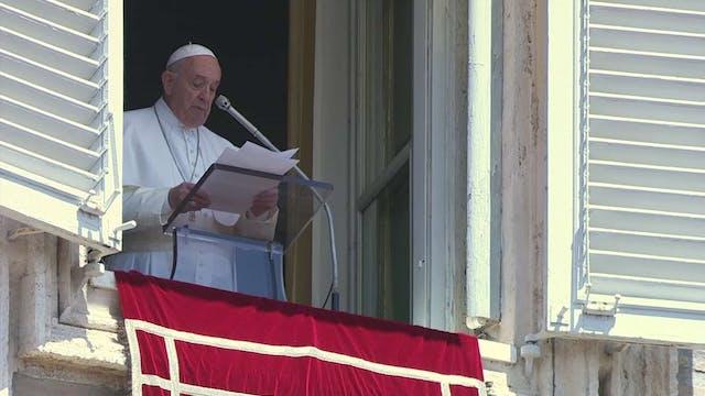 Papa en Regina Coeli: Gracias a las m...