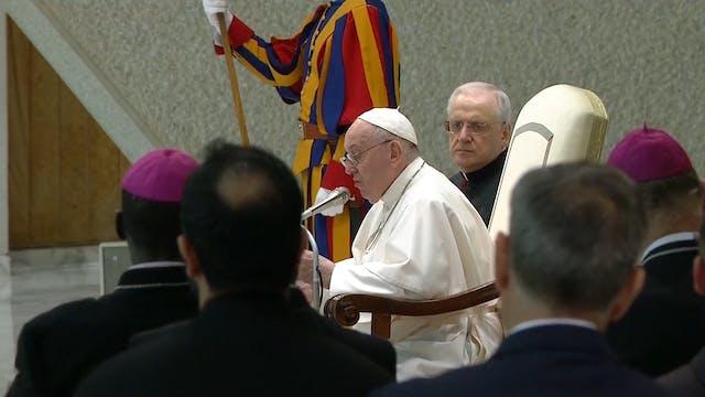 Palabras del Papa sobre el informe de...