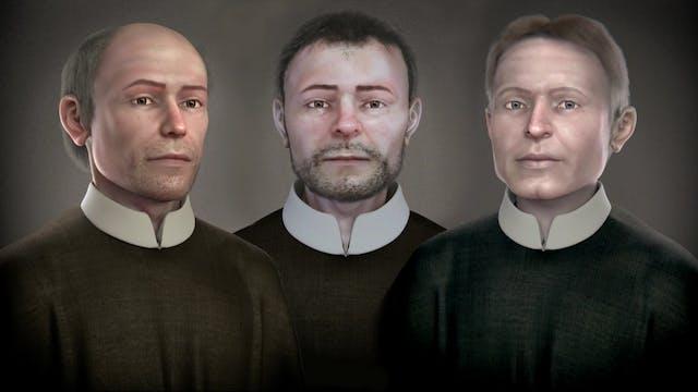 Reconstruyen el rostro de 3 mártires ...