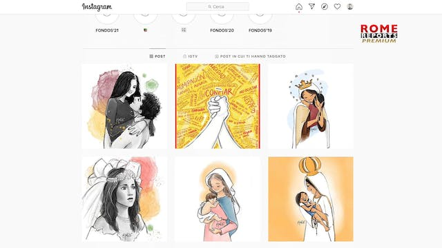 Artists bring religious art to the di...