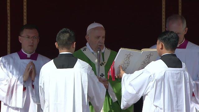 El Papa celebrará este domingo por pr...