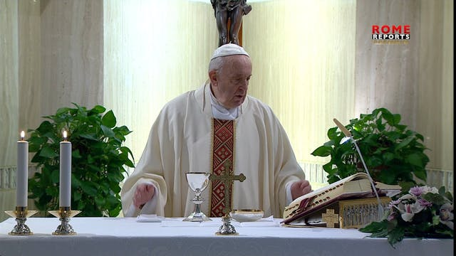 Papa en Santa Marta hace lista de act...