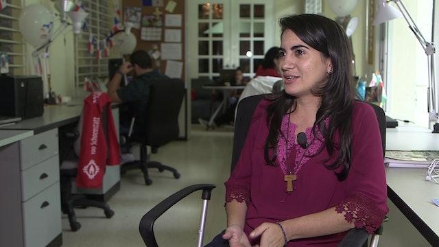 Voluntaria de la JMJ: Panamá es un país muy acogedor, nos sentimos como en casa