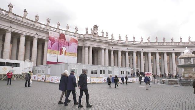 Vaticano abre hospital campaña para s...