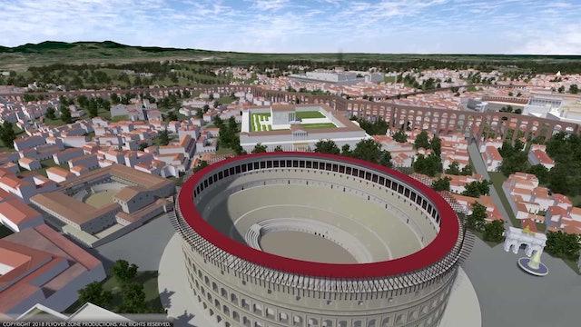 Tour de realidad virtual transporta al año 320 d.c. a la antigua Roma
