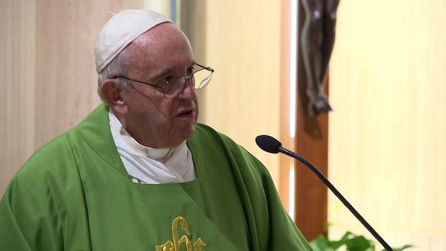 El Papa en Santa Marta alerta sobre el peligro de ser una Iglesia ideológica