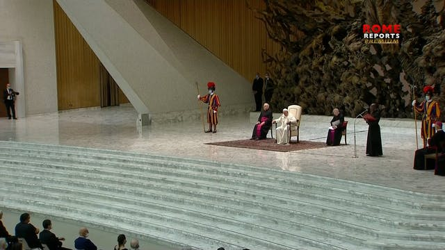 Pope Francis: Faith frees us from scr...