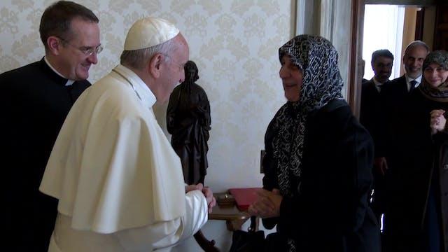 Papa Francisco se reúne con president...