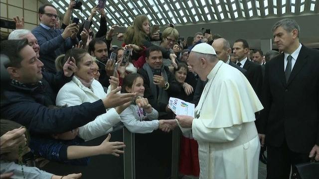 Papa Francisco: Dios es un padre tierno, no un tirano terrible