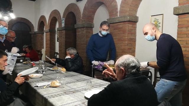 Despite coronavirus, Sant'Egidio keeps soup kitchen open for homeless people