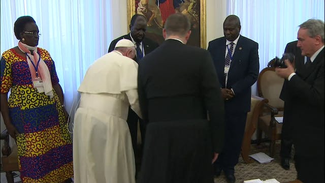 Pope and Christian leaders call on So...
