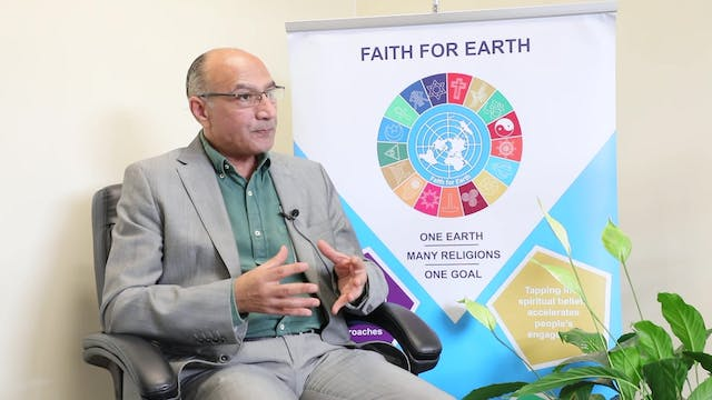 Faith for Earth Initiative unites wor...