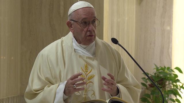 Francisco en Santa Marta: En Navidad corremos el peligro de olvidar al Señor