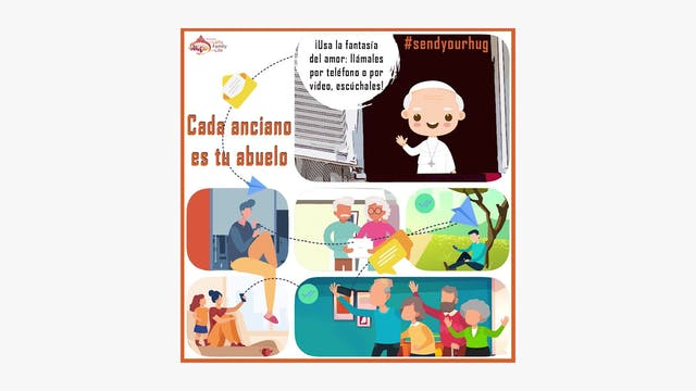 """Vaticano lanza campaña """"Cada anciano ..."""