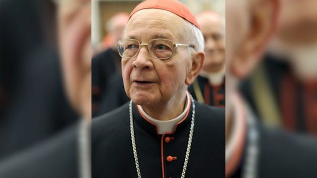 Spanish Cardinal Eduardo Martínez Som...