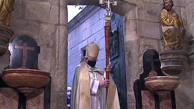 Santiago de Compostela celebrates a J...