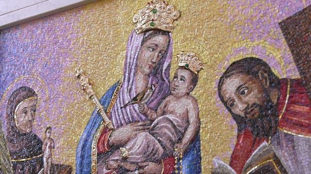 """Un icono de una Virgen """"descartada"""" l..."""