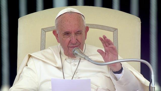 Papa explica en la audiencia la unida...