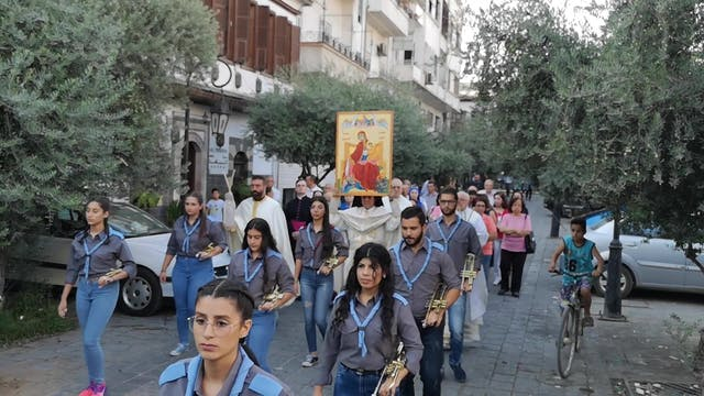 Icon blessed by pope brings hope to s...