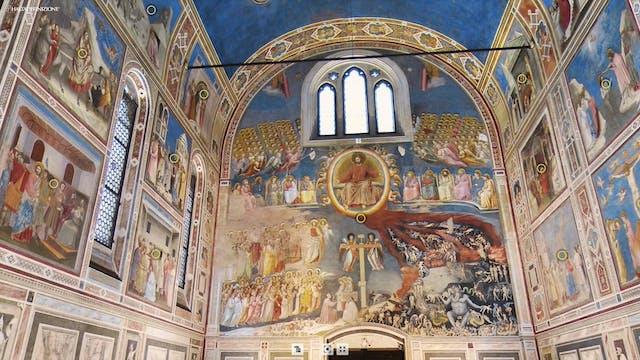 Striking virtual tour shows frescoes ...