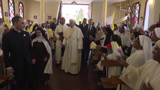 Pope Francis to Madagascar nuns: speak up when something disturbs your peace