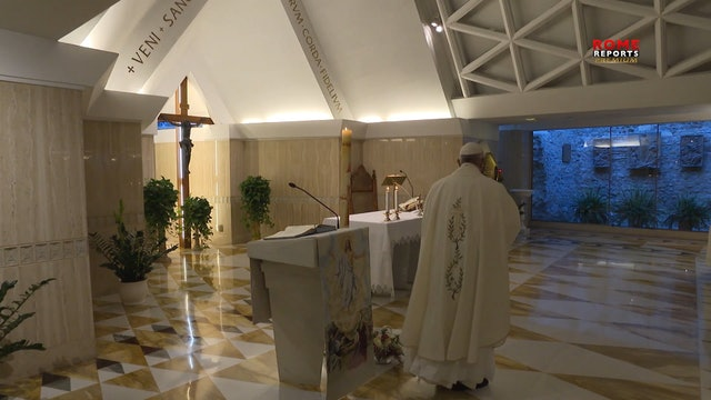 Pope in Santa Marta: one cannot do anything without the Holy Spirit