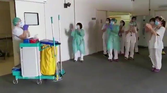 Profesionales de la limpieza: Héroes ...
