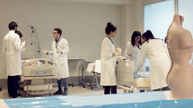 Hospital de Roma junto a médicos de W...