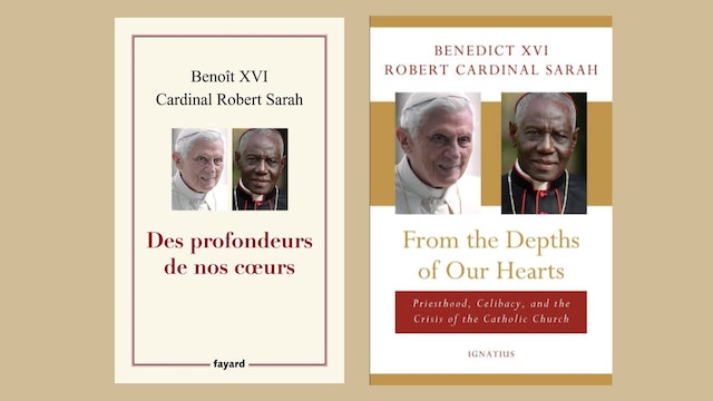 Benedict XVI asks to remove his name as co-author of celibacy book