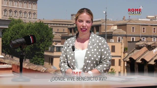 ¿DÓNDE VIVE BENEDICTO XVI?
