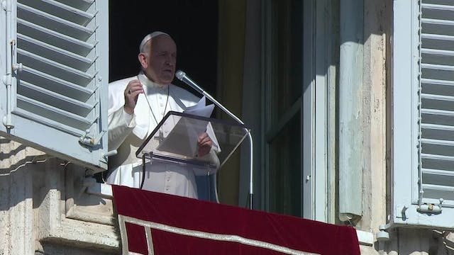 Pope Francis at Angelus: A good disci...