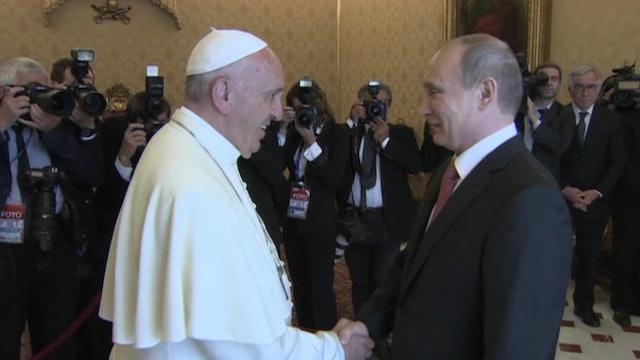 Los posibles temas de la reunión entre Francisco y Putin
