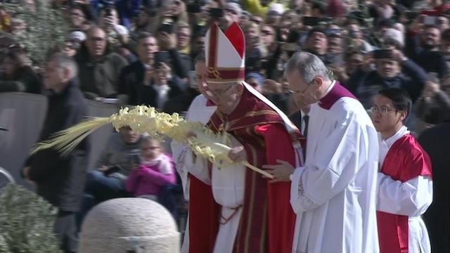 Agenda de Semana Santa del Papa Francisco