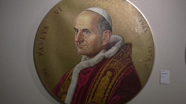 Exposición reúne obras de artistas dedicadas a Pablo VI por primera vez en Roma