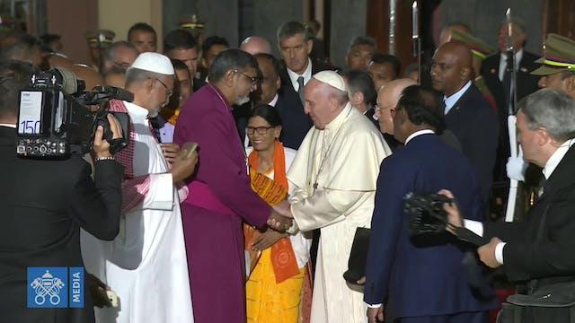 Representante anglicano en Roma busca...