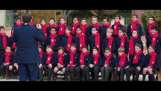 Coro de niños que triunfó en YouTube ...